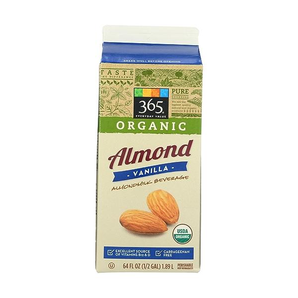 Vanilla Almondmilk, 64 fluid ounce 2