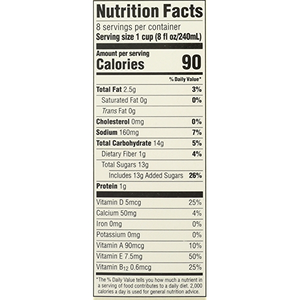 Vanilla Almondmilk, 64 fluid ounce 4