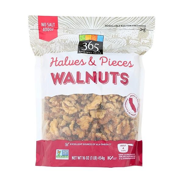 Walnut Halves and Pieces, 16 ounce 1