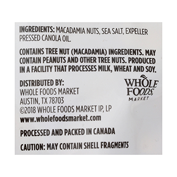 Roasted & Salted Macadamia Nuts, 8 ounce 3