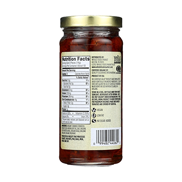 Sundried Tomatoes In Extra-virgin Olive Oil, 8.5 ounce 2