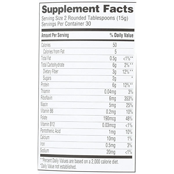 Nutritional Yeast, 15.9 ounce 4