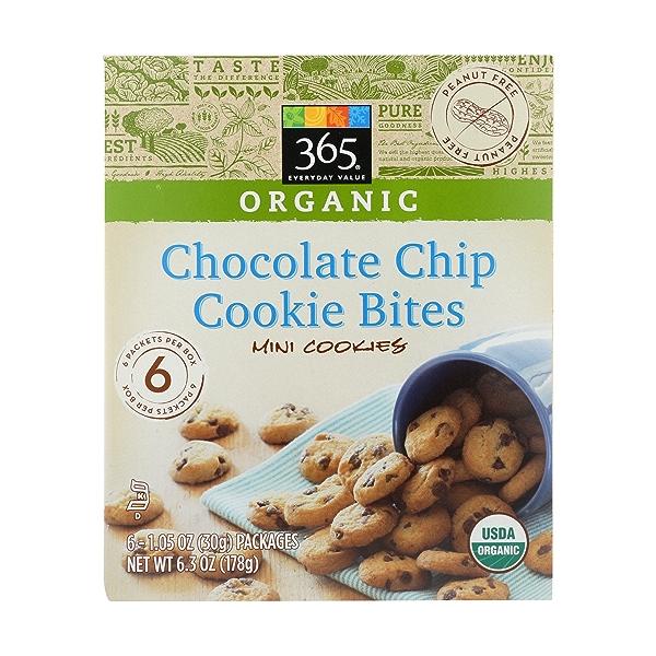 Organic Chocolate Chip Cookie Bites, 1 each 1