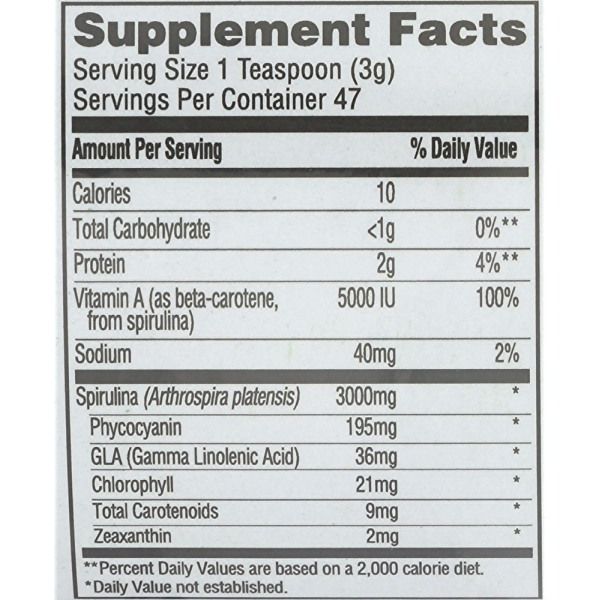 Spirulina Powder, 5 ounce 4