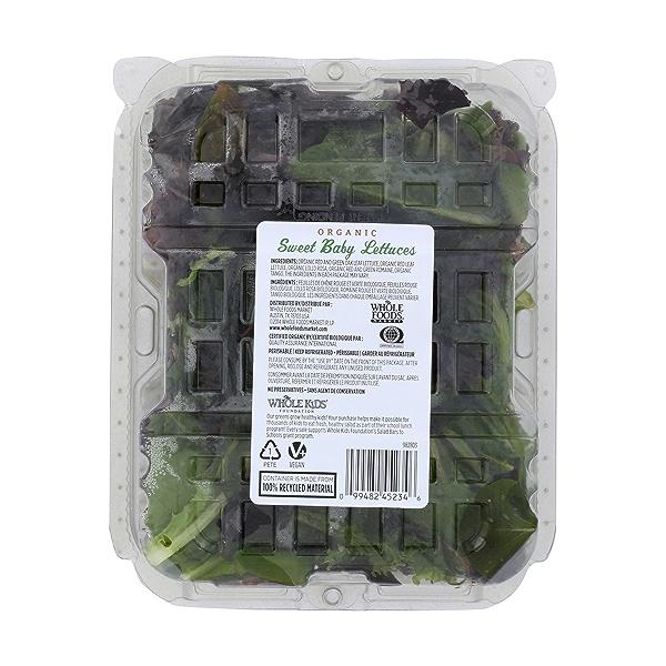 Organic Sweet Baby Lettuces 2