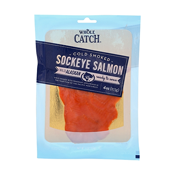 Whole Catch Cold Smoked Salmon 1