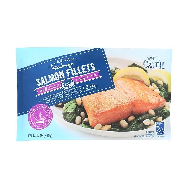 Sockeye Salmon Fillets 1