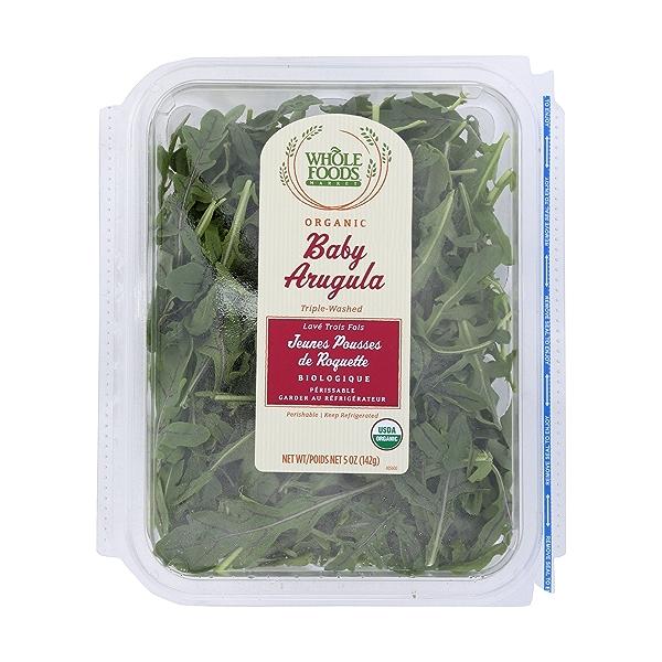 Organic Baby Arugula 1