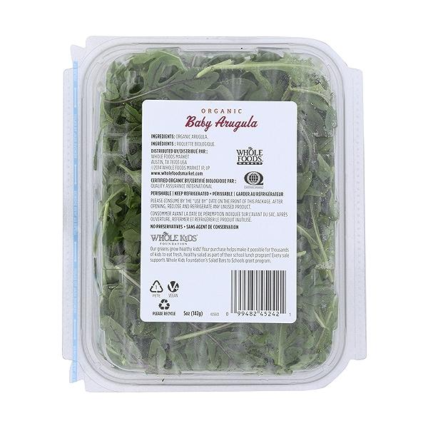 Organic Baby Arugula 2