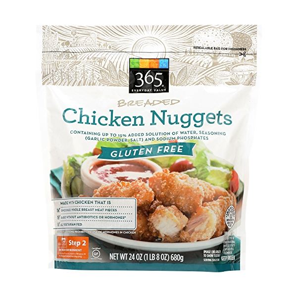 Gluten Free Breaded Chicken Nuggets 1