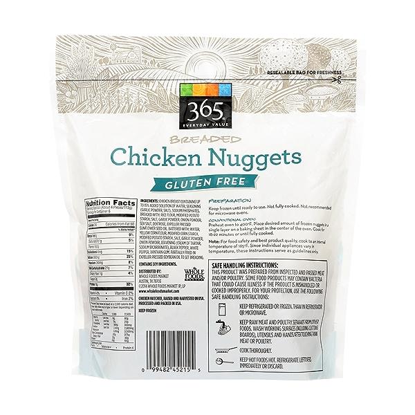 Gluten Free Breaded Chicken Nuggets 2