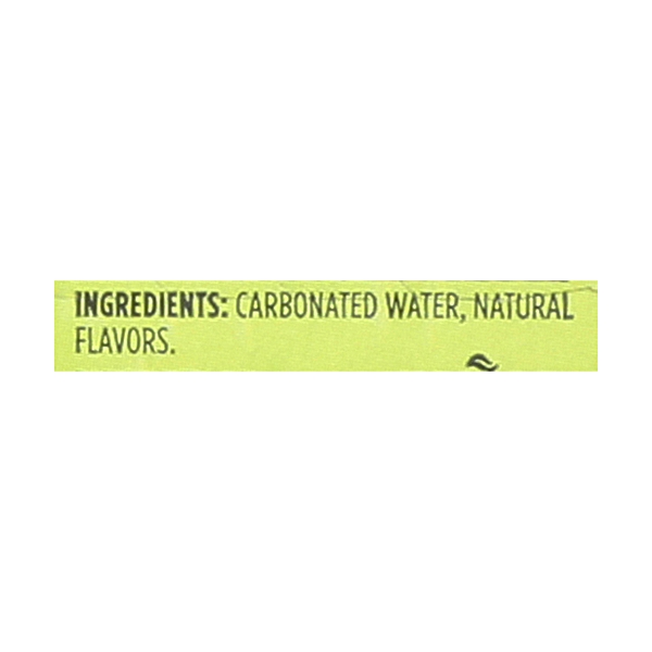 Lime Sparkling Water, 12 count 3