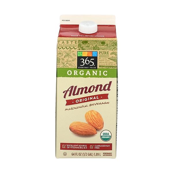 Original Organic Almondmilk, 64 fluid ounce 1