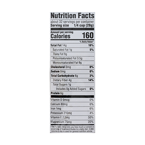 Unroasted & Unsalted Almonds, 32 ounce 4