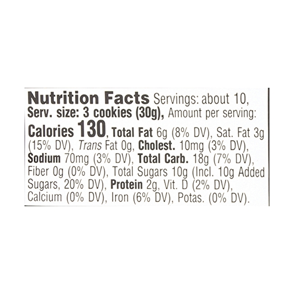 Chocolate Chip Two-bite® Cookies, 10.5 ounce 4