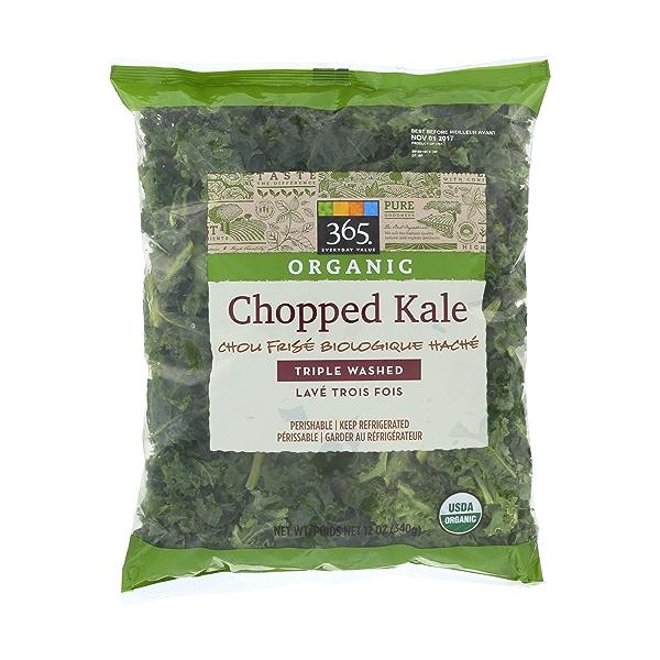 Organic Chopped Kale 1