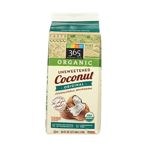 Unsweetened Original Organic Coconut Milk, 64 fluid ounce 2