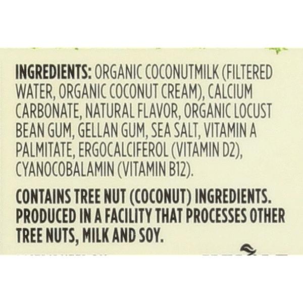Unsweetened Original Organic Coconut Milk, 64 fluid ounce 3