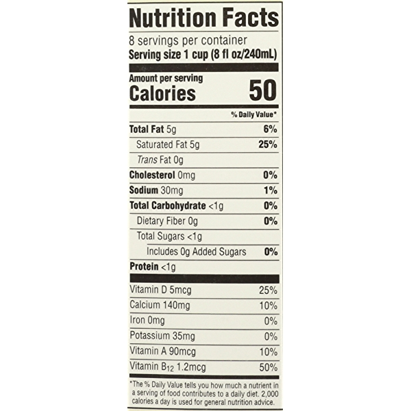 Unsweetened Original Organic Coconut Milk, 64 fluid ounce 4