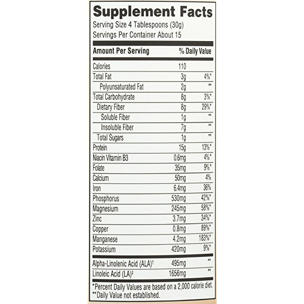 Unflavored Powder Hemp Protein, 16 ounce 4