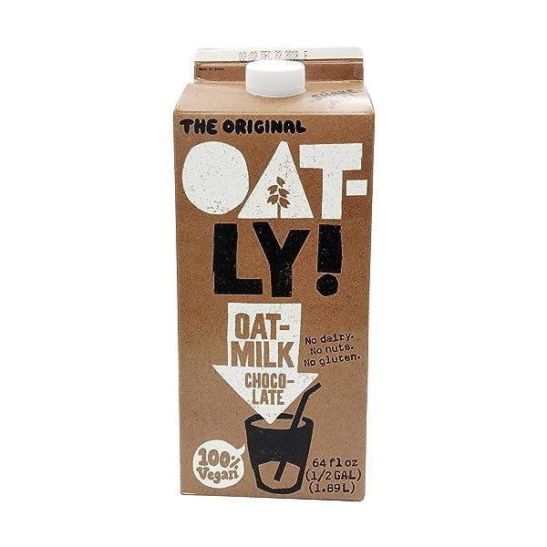 Chocolate Oat Milk, 64 fluid ounce 1
