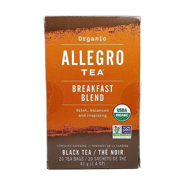 Organic Breakfast Blend Black Tea, 20 tea bags 3