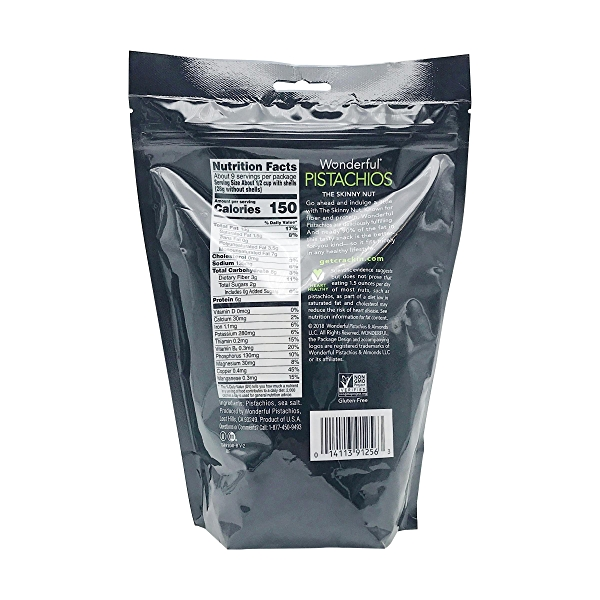 Roasted & Salted Pistachios, 16 oz 2