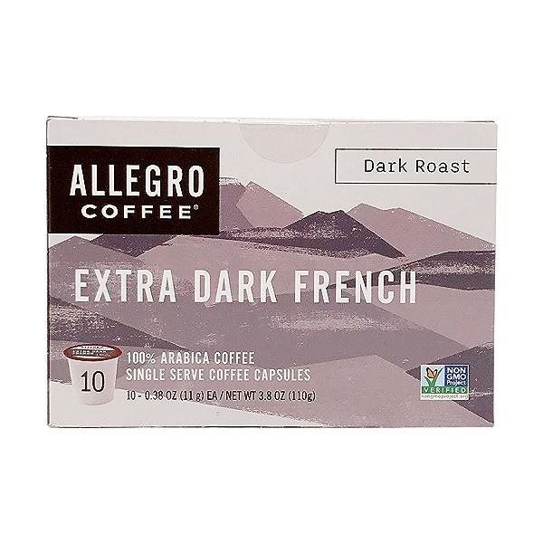 French Roast Extra Dark Pods, 3.8 oz 1