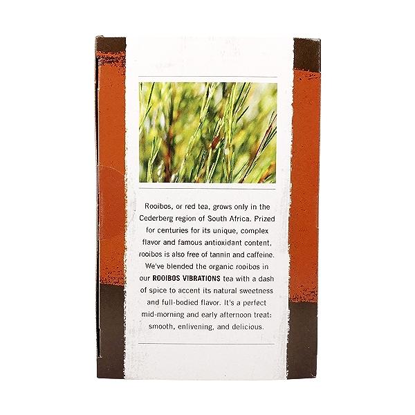 Organic Rooibos Vibrations Tea, 1.4 oz 2