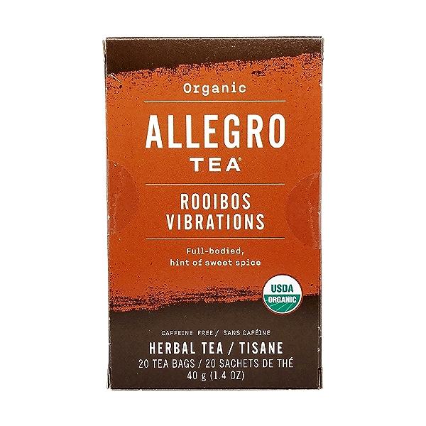 Organic Rooibos Vibrations Tea, 1.4 oz 1