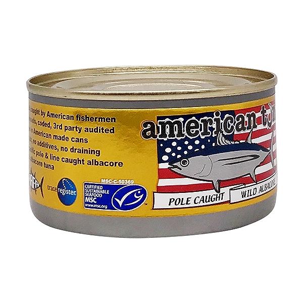 Pole Caught Albacore Tuna With Salt 6