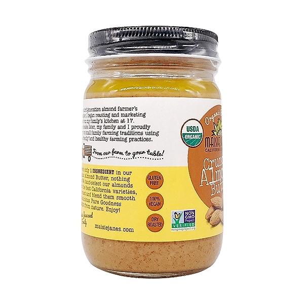 Organic Almond Butter Crunchy, 12 oz 4