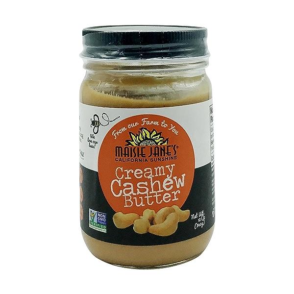 Creamy Cashew Nut Butter, 12 oz 1
