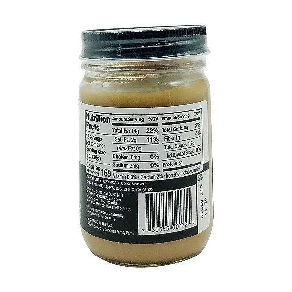 Creamy Cashew Nut Butter, 12 oz 2