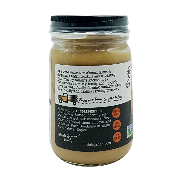 Creamy Cashew Nut Butter, 12 oz 3