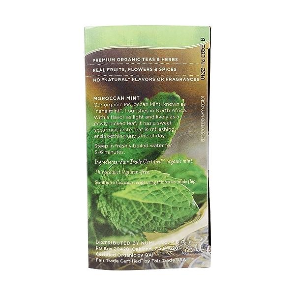 Organic Moroccan Mint Tea, 140 oz 2
