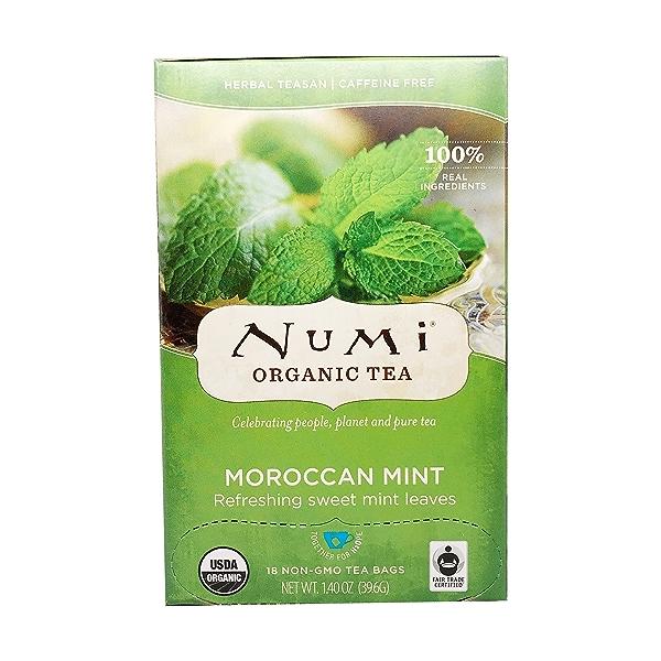 Organic Moroccan Mint Tea, 140 oz 1