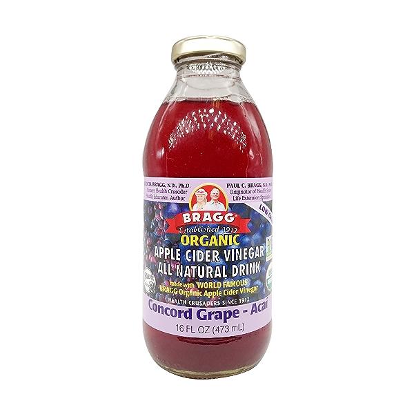 Organic Concord Grape-acai Apple Cider Vinegar Drink, 16 fl oz 1