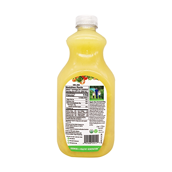 Organic Orange Juice, 52 fl oz 2