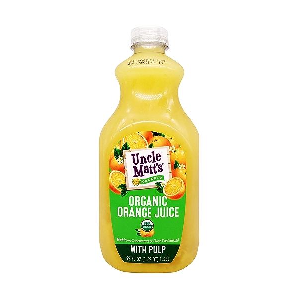 Organic Orange Juice, 52 fl oz 1