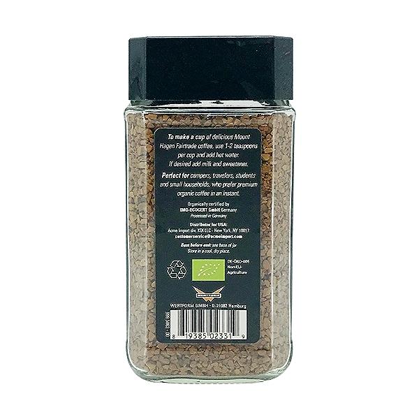 Organic Instant Coffee, 3.53 oz 2