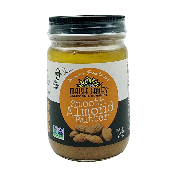 Smooth Almond Butter, 12 oz 1