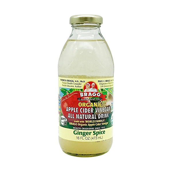 Organic Ginger Spice Apple Cider Vinegar, 16 fl oz 1