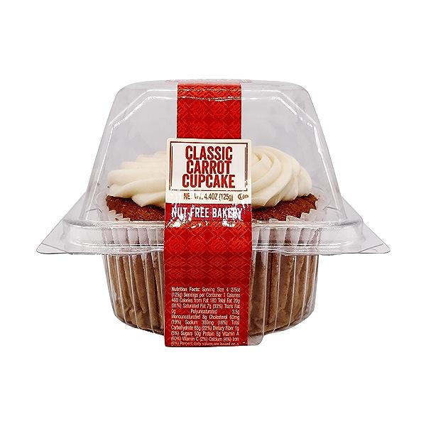 Classic Carrot Cupcake, 4.4 oz 2