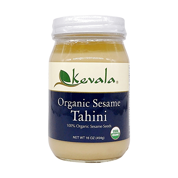 Organic Sesame Tahini, 16 oz 1