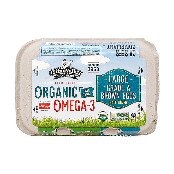 Organic Omega-3 Eggs (6 Pk) 1