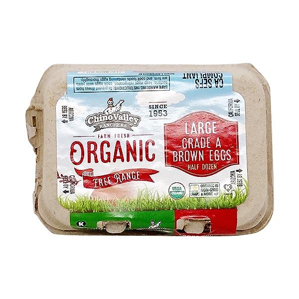 Organic Eggs (6 Pk) 1