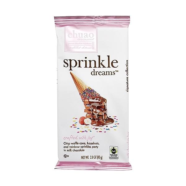 Sprinkle Dreams Chocolate Bar, 2.8 oz 1