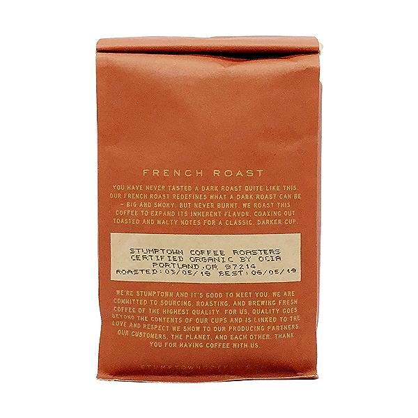 Organic French Roast Whole Bean Coffee, 12 oz 2