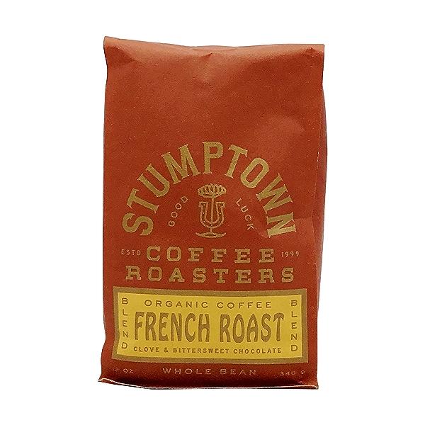 Organic French Roast Whole Bean Coffee, 12 oz 1
